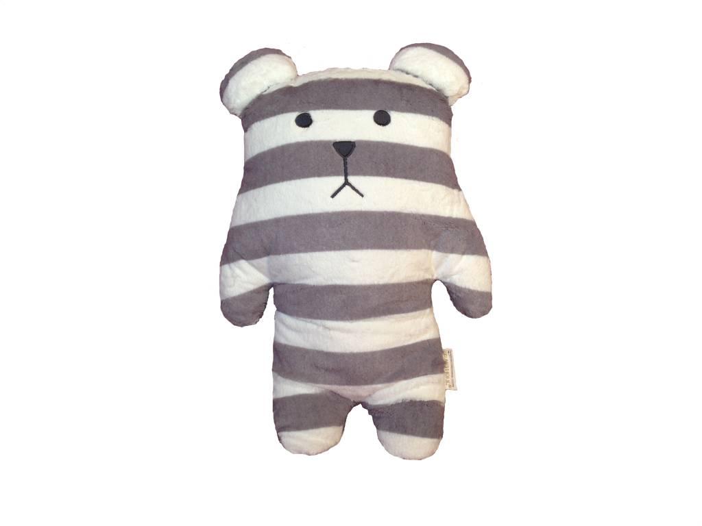 Craftholic® Sloth bear hug gray and white striped Junior