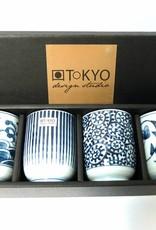 Tokyo Design Studio theekopje, Japans thee kopje, Japanse theekopjes cadeau set Osaka