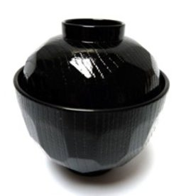 Miso soup bowl small black