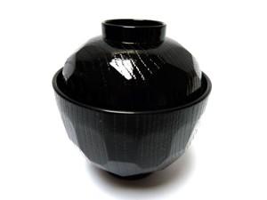 Miso soepkom zwart klein