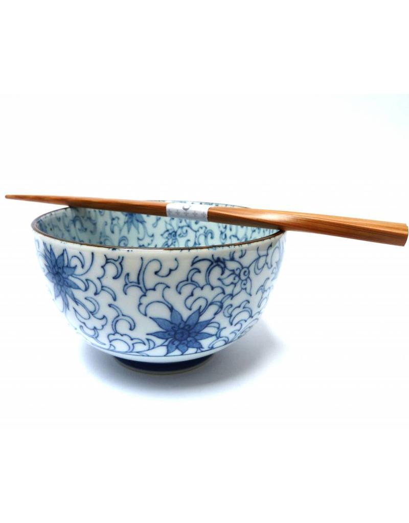 Japanse kom korenbloem motief