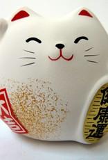 Maneki Neko white, small