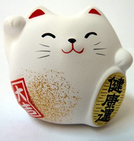 Maneki Neko white, small
