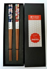 Tokyo Design Studio Chopsticks Flower (2 sets) in doosje