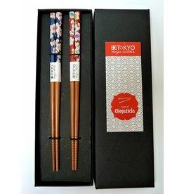 Tokyo Design Studio Chopsticks Flower (2 sets) in box