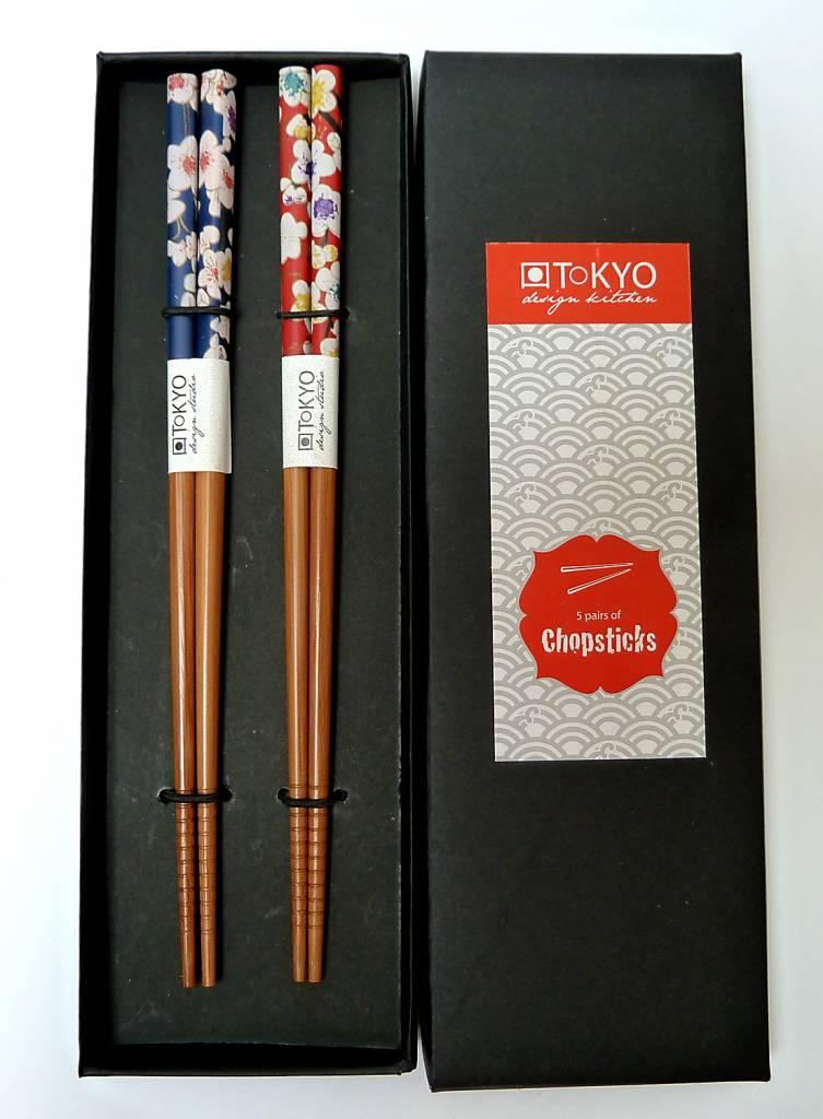Tokyo Design Studio Chopsticks Flower (2 sets) in doosje