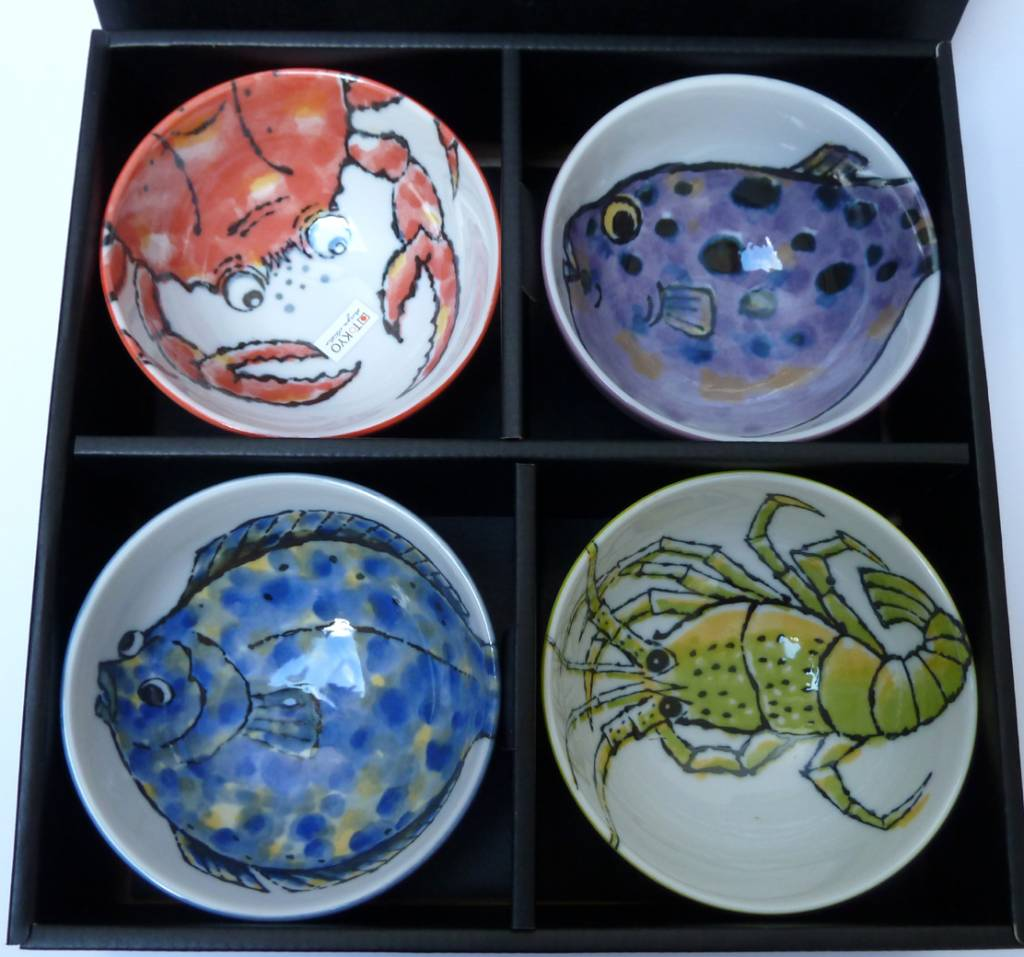seafood bowls japans servies. Black Bedroom Furniture Sets. Home Design Ideas