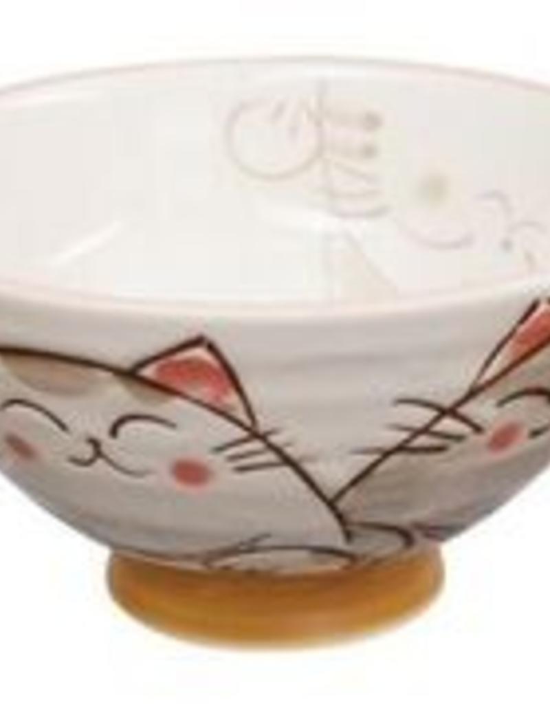 Tokyo Design Studio Japanese bowl kawaii cat