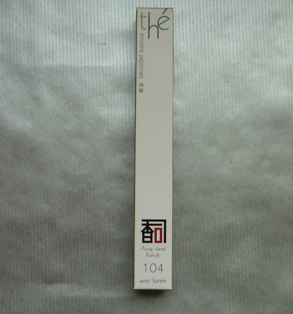 Awaji Island Koh-shi Japanese incense tea (Finest Selection Series) (Emits Smoke)