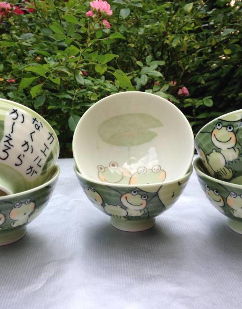 Tokyo Design Studio Bowl with frog