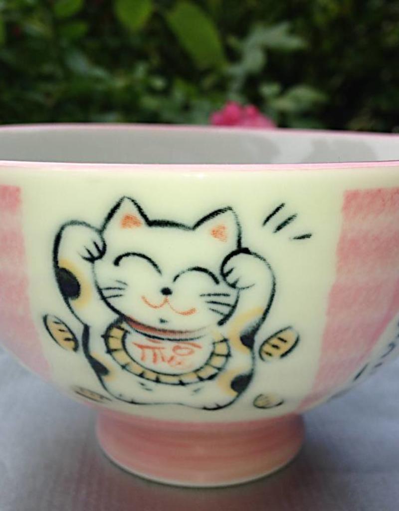 Tokyo Design Studio Japanse kom cat love pink