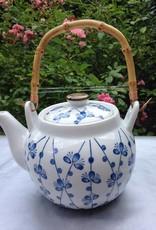 Japanese teapot sakura