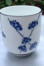 Japanese tea cup sakura