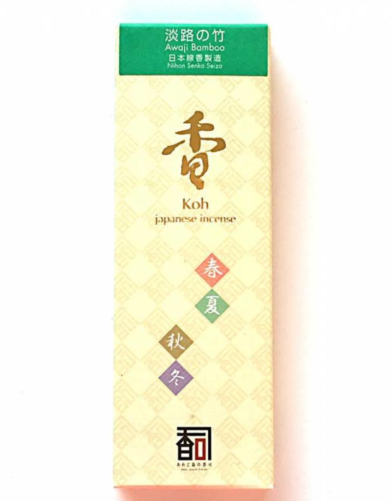 Awaji Island Koh-shi Japanese incense Awaji bamboo (114)