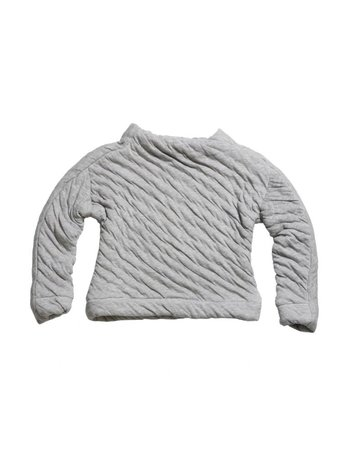Ine de Haes LIAM Sweater | Light grey