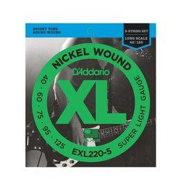 D'Addario D'Addario EXL220-5 5-String