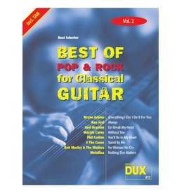 Edition Dux Best of Pop & Rock for Classical Guitar 2
