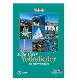 Edition Walter Wild Schweizer Volkslieder für Schwyzerörgeli