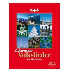 Edition Walter Wild Schweizer Volkslieder für Akkordeon
