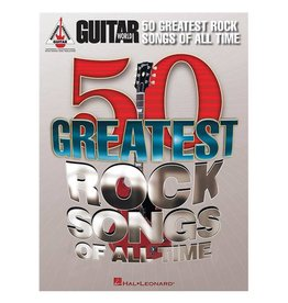 Hal Leonard 50 Greatest Rock Songs of All Time