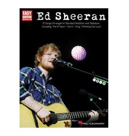 Hal Leonard Ed Sheeran - 12 Songs