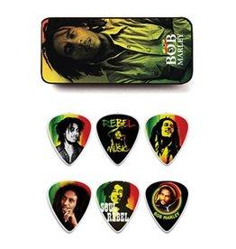 "Dunlop Dunlop Tin Box Bob Marley ""Rasta"" Medium"