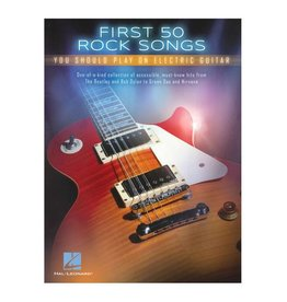 Hal Leonard First 50 Rock Songs