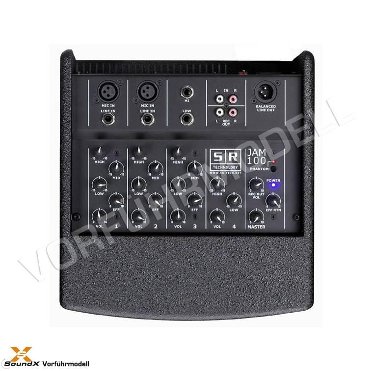 SR Technology SR Technology Jam 100 Black (Vorführmodell)