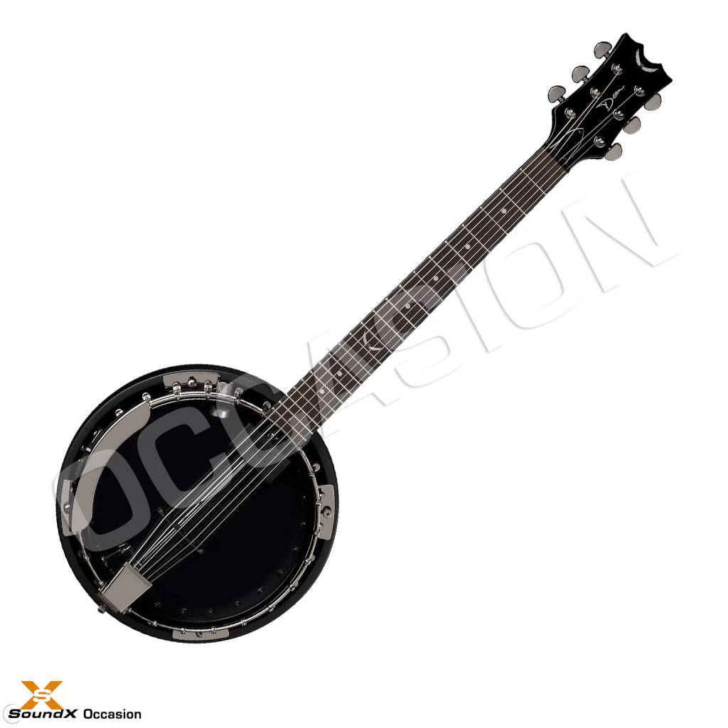 Dean Guitars Dean Backwoods 6 Banjo Black Chrome  (Occasion)