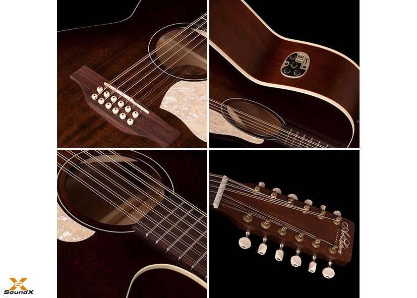 Art & Lutherie Legacy 12 String Bourbon Burst CW QIT