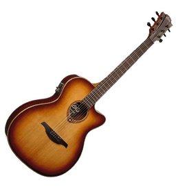 LAG Guitars LAG Tramontane T100ASCE-BRS Slimline