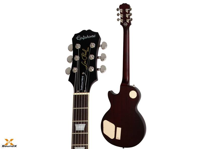 Epiphone Epiphone Les Paul Traditional Pro II Wine Red