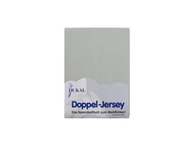 Fixleintuch Doppel-Jersey grau