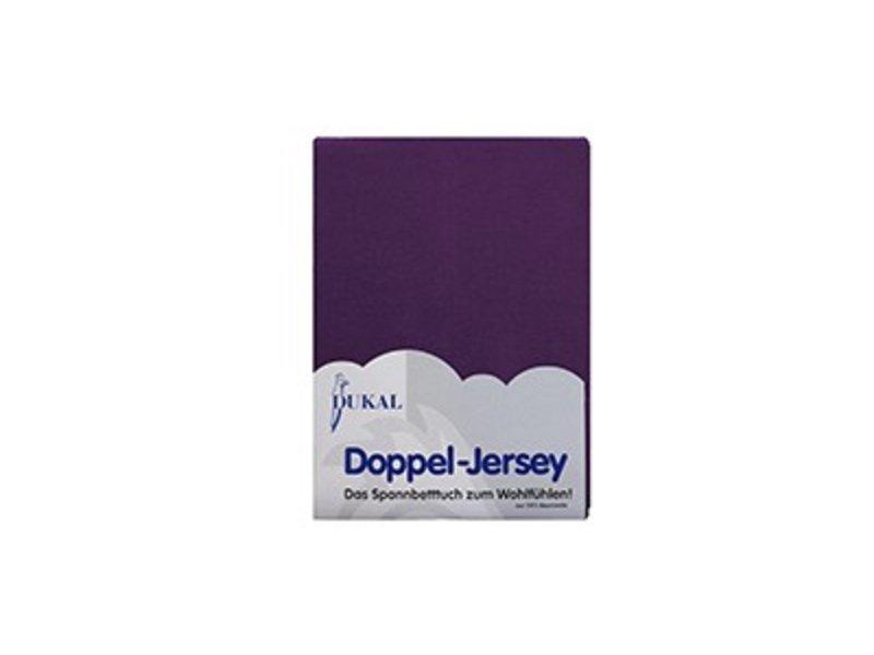 Fixleintuch Doppel-Jersey lila