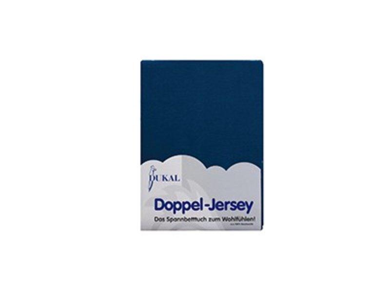 Fixleintuch Doppel-Jersey petrol