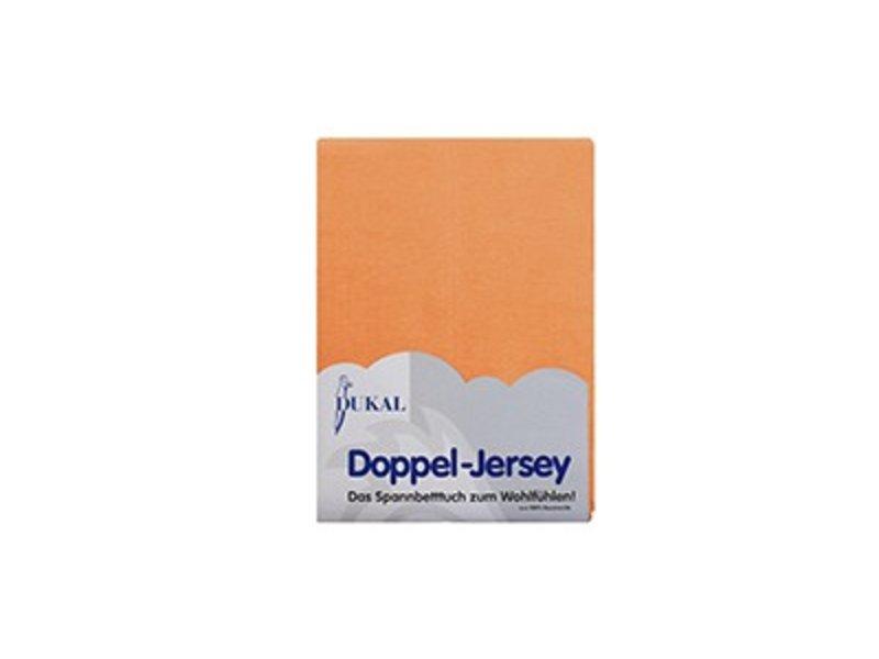 Fixleintuch Doppel-Jersey apricote