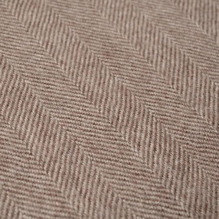 'Fishbone' - Plaid - 100% Alpaca - Super zacht en warm..
