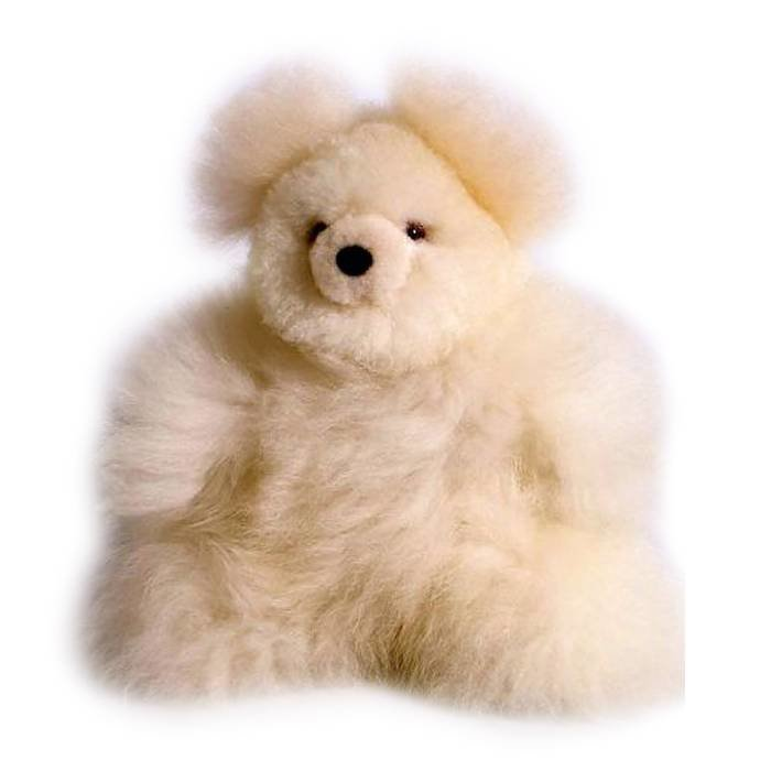 Teddy - Fluffy Toy - Ivory