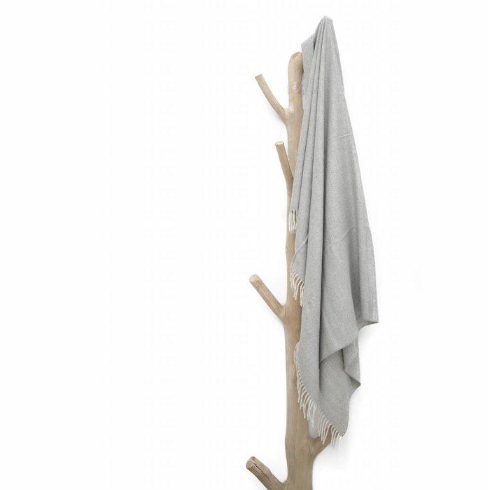 'Premium Alpaca' - Plaid - Lichtgrijs