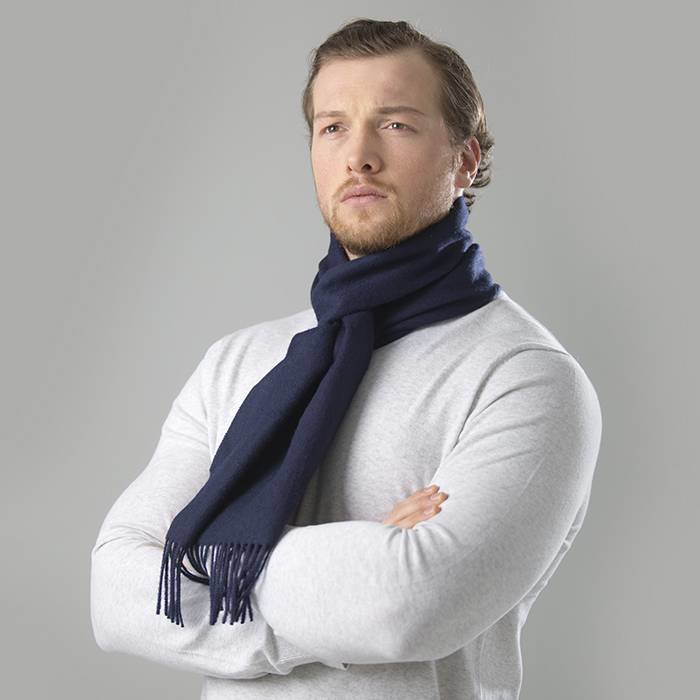 'Royale' - 100% Premium Alpaca - Navy Blue