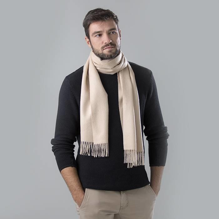 'Royale' - Premium Sjaal - Beige