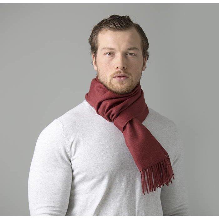 'Royale' - Premium Sjaal - Rood