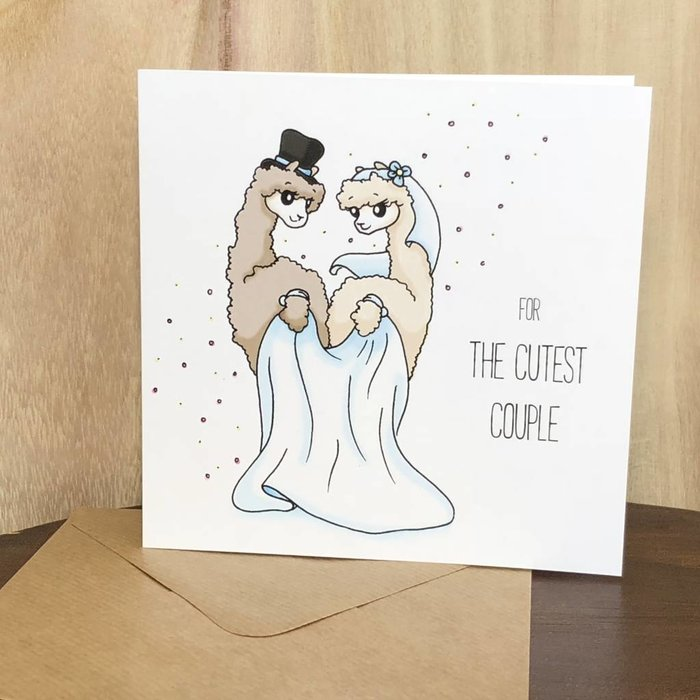 Just Married!- Wedding Card
