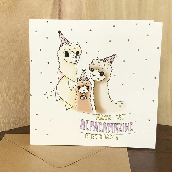 1. ALPACAMAZING BIRTHDAY!