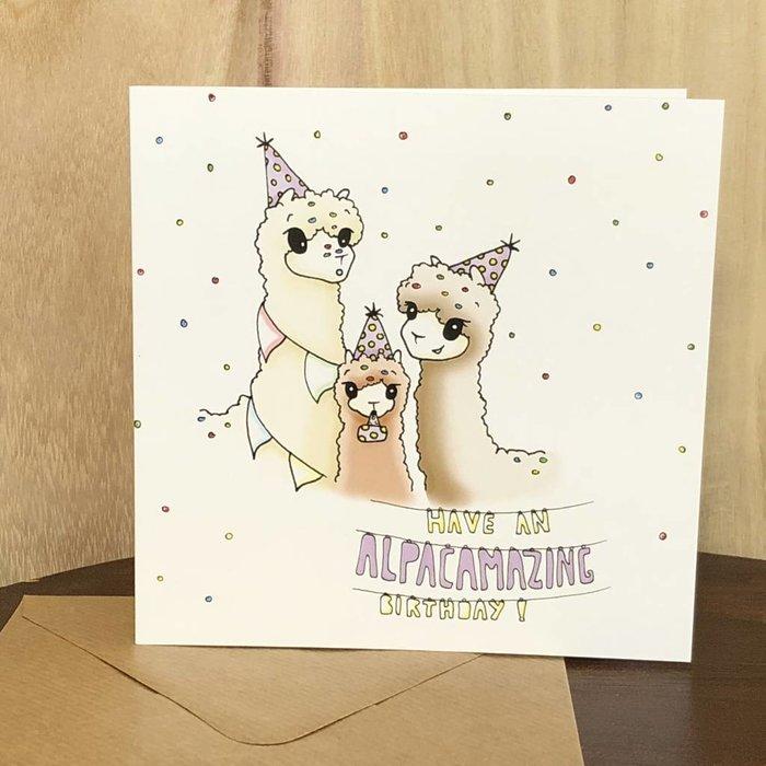 Have an AlpacAmazing Birthday! - NEW!