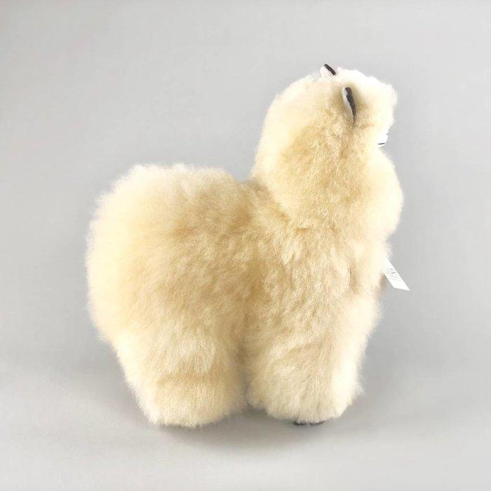 Alpaca Knuffel - Medium - Handgemaakt van Alpacawol - Hypoallergeen - Beige