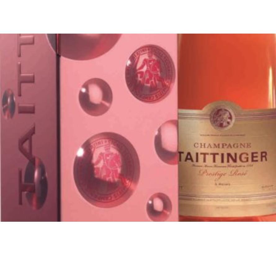 Champagne Taittinger Prestige Rosé Geschenk Box - 75 cl