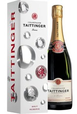 Champagne Taittinger Brut Réserve in Geschenkbox -75 cl - eindjaar korting : vanaf 38,70 per fles