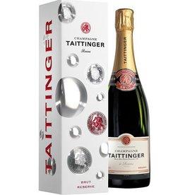 Taittinger Champagne Taittinger Brut Réserve in Geschenkbox - 75 cl