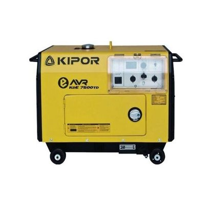 Kipor KDE7500TD | Four-stroke diesel generator with large fuel tank